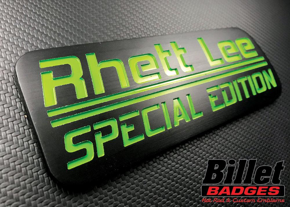 Rhett Lee Special Edition