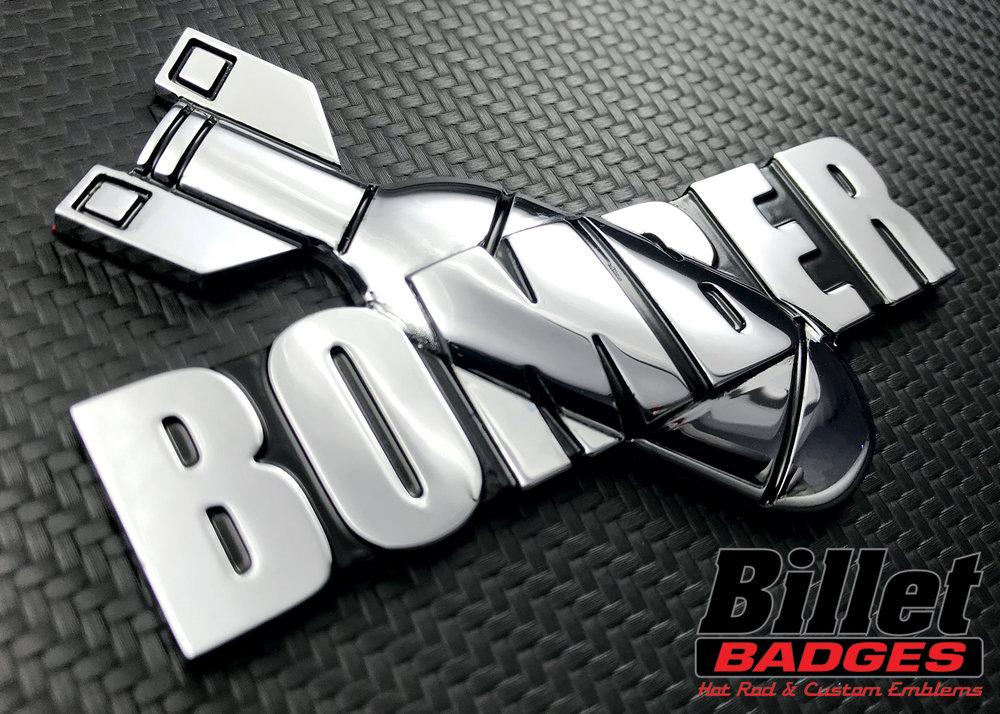 bomber_indian_cycle_custom_billet_badge.jpg