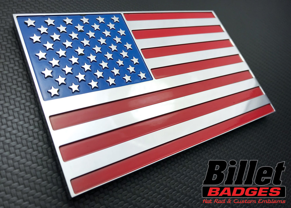 Custom Billet Badges & Emblems