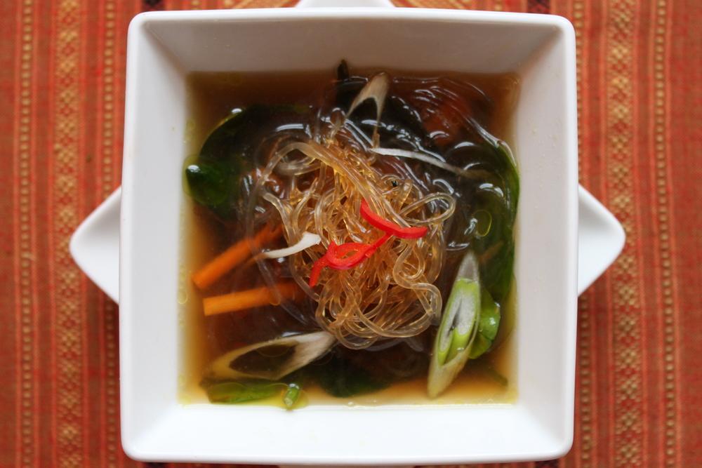 TOM YUM SOUP (recipe coming soon!)