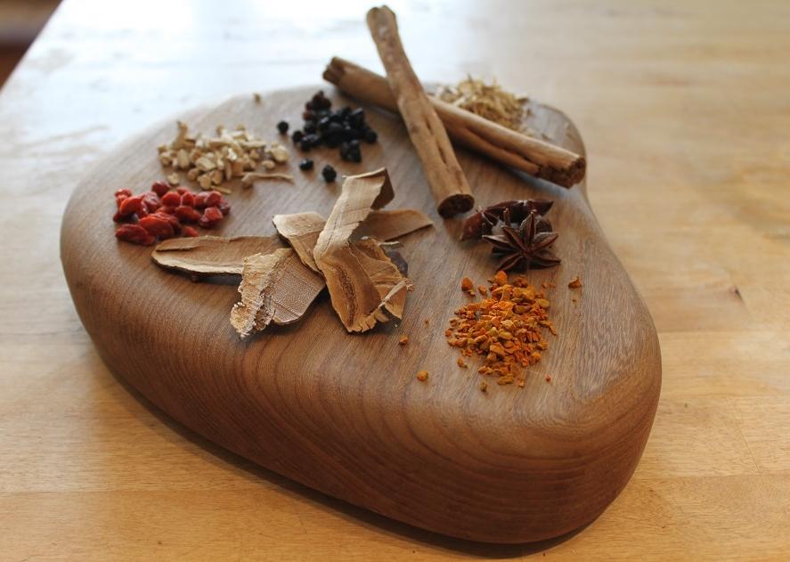 Mushrooms, berries, spices & superfoods