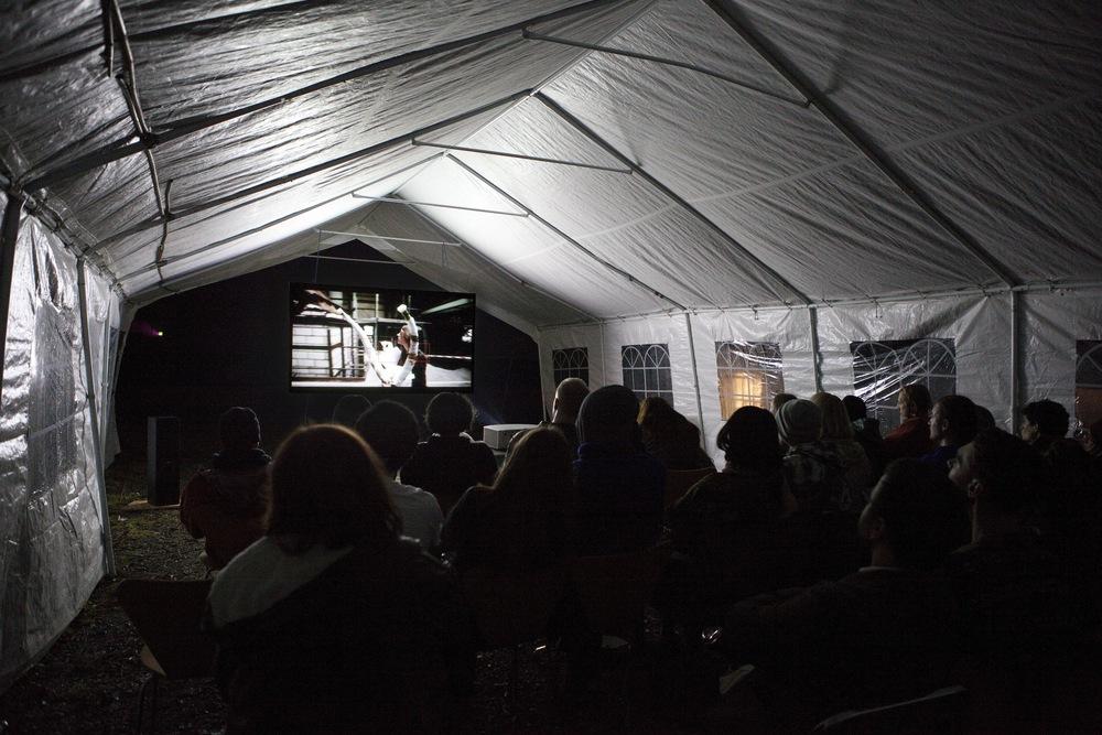 Screening at the Merz Barn in Ambleside, Nov, 2015, www.merzbarnlangdale.wordpress.com