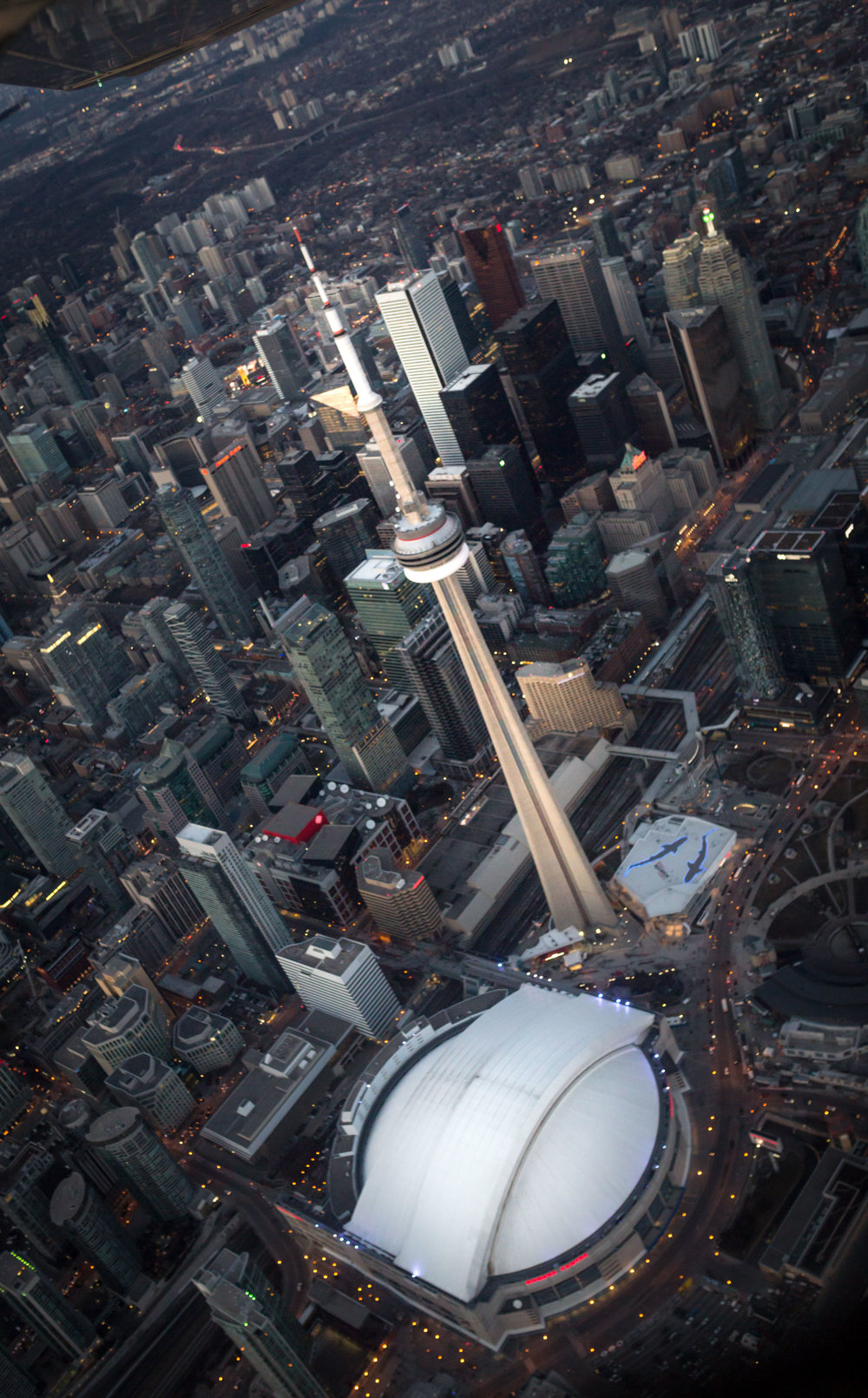 Flight Over Toronto