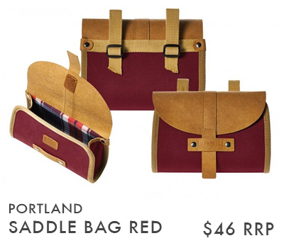 PORTLAND SADDLE RED