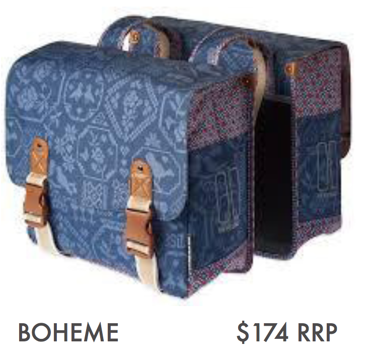 BOHEME – DOUBLE BAG, INDIGO