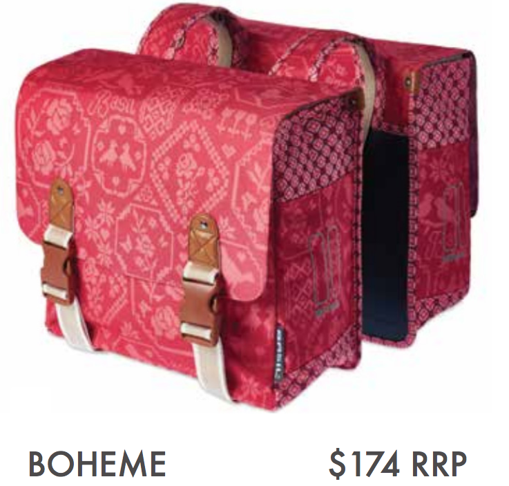 BOHEME – DOUBLE BAG, VINTAGE RED