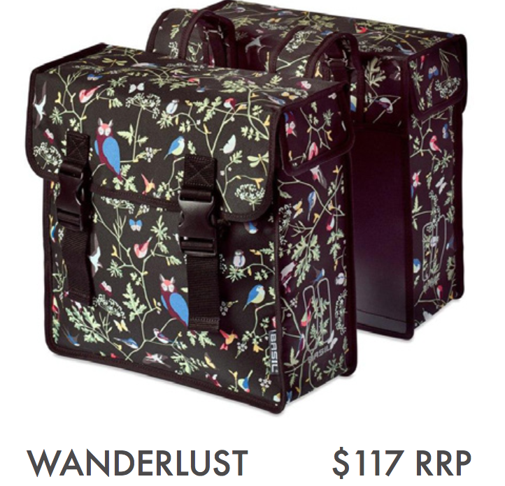 BASIL WANDERLUST – DOUBLE BAG, CHARCOAL