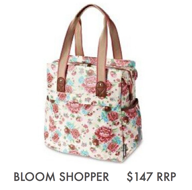 BASIL BLOOM - SHOPPER, GARDENIA