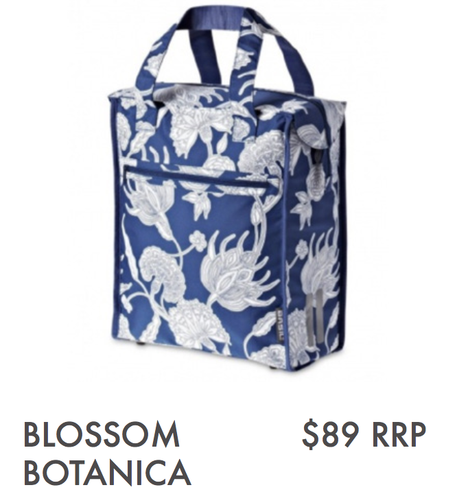 BLOSSOM BOTANICA - SHOPPER, BLUE