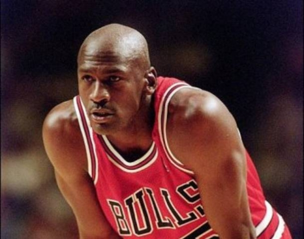 Michael Jordan was always in the zone.