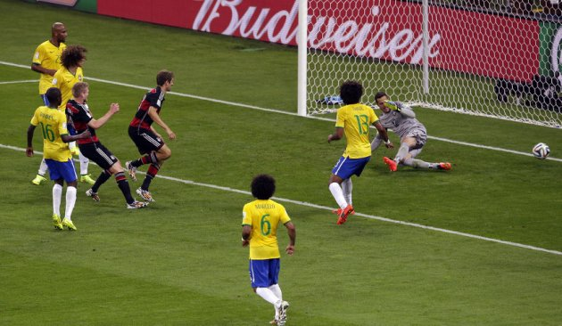 Funnily enough there weren't too many goals in Brazil's next game.