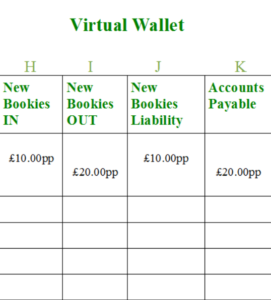 Bonus Bagging Accounting Virtual Wallet