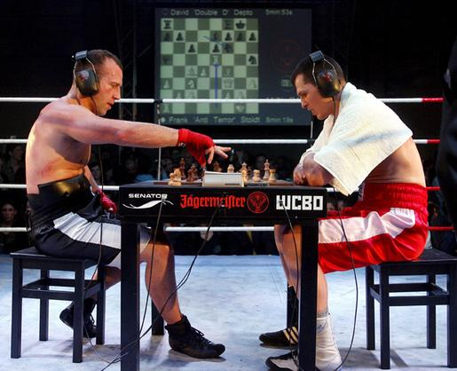 The bizarre sport of chess/boxing