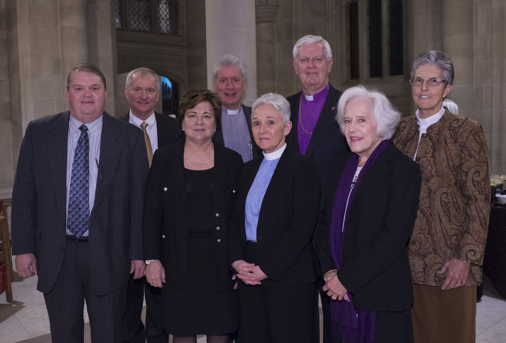 A lay and clergy delegation, led by Bishop Jim Dorff was present on Jan. 25, at the National Cathedral in Washington D.C.