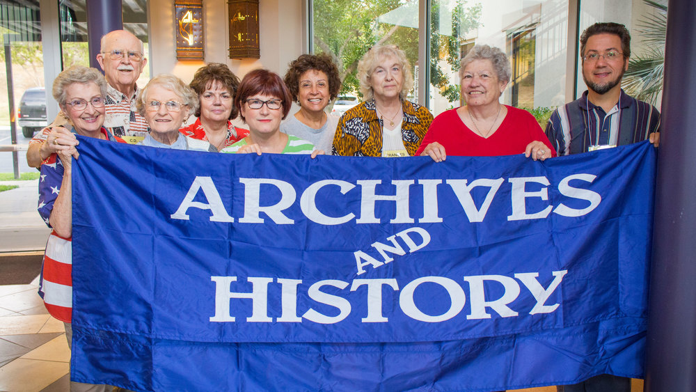 Freda Barrington, C.D. Barrington: Volunteers; Jean Traster: Former Archivist, South Central Jurisdiction and Central Texas Conference Archivist, Texas United Methodist Historical Society and Polytechnic UMC; Patty Chebultz: Rio Texas Conference Database Administrator & Building Manager; Rev. Valli Blair: Chair, Rio Texas Conference Commission on Archives and History (RTCCAH) Elizabeth Jimenez: Secretary, RTCCAH Frances Long: Archivist of South Central Jurisdiction and North Texas Conference Penny Robbins: Member, RTCCAH Tim Binkley: Archivist, Bridwell Library at Southern Methodist University