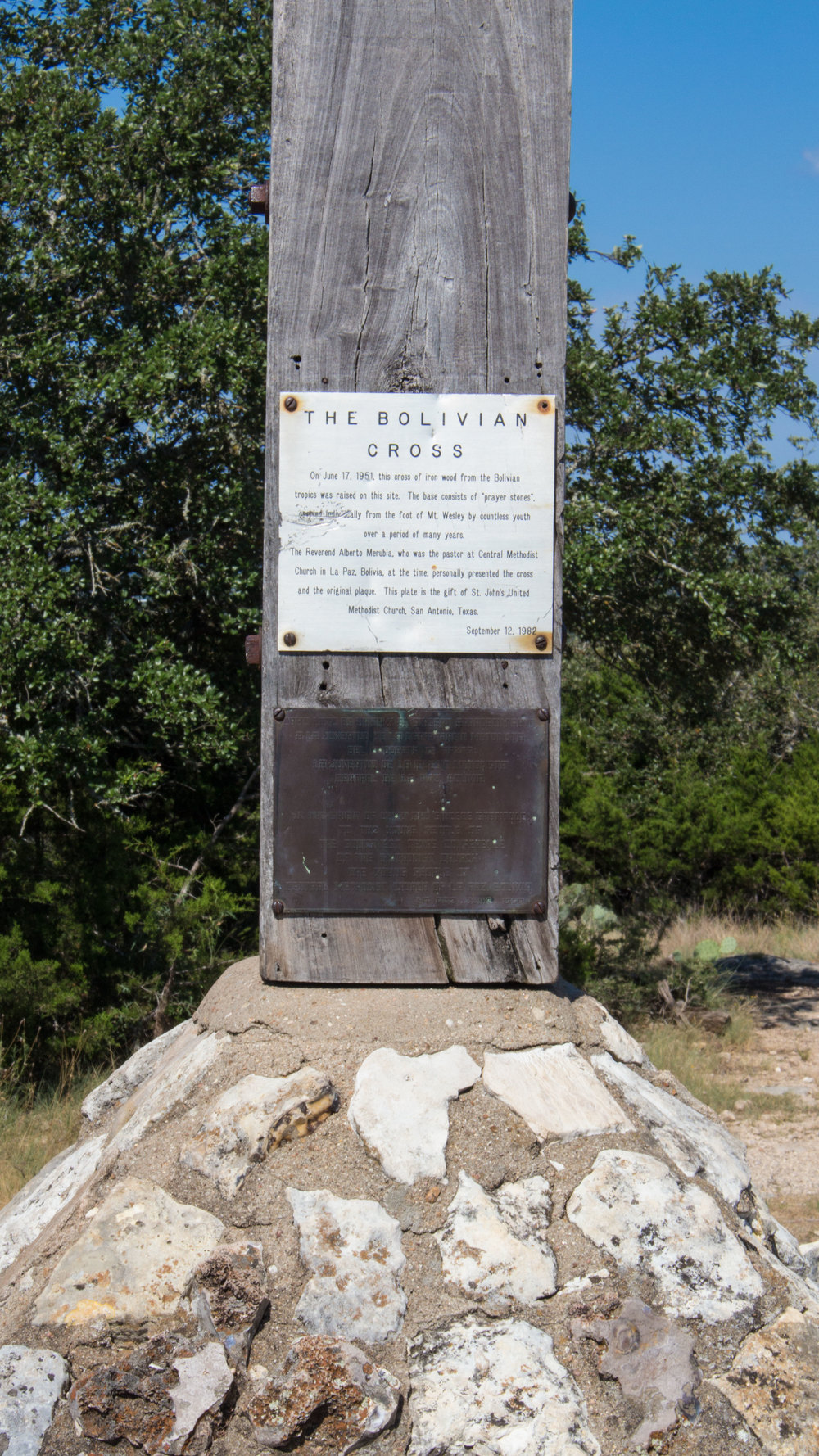 Bolivian Cross at Mount Wesley 20150825 1.jpg