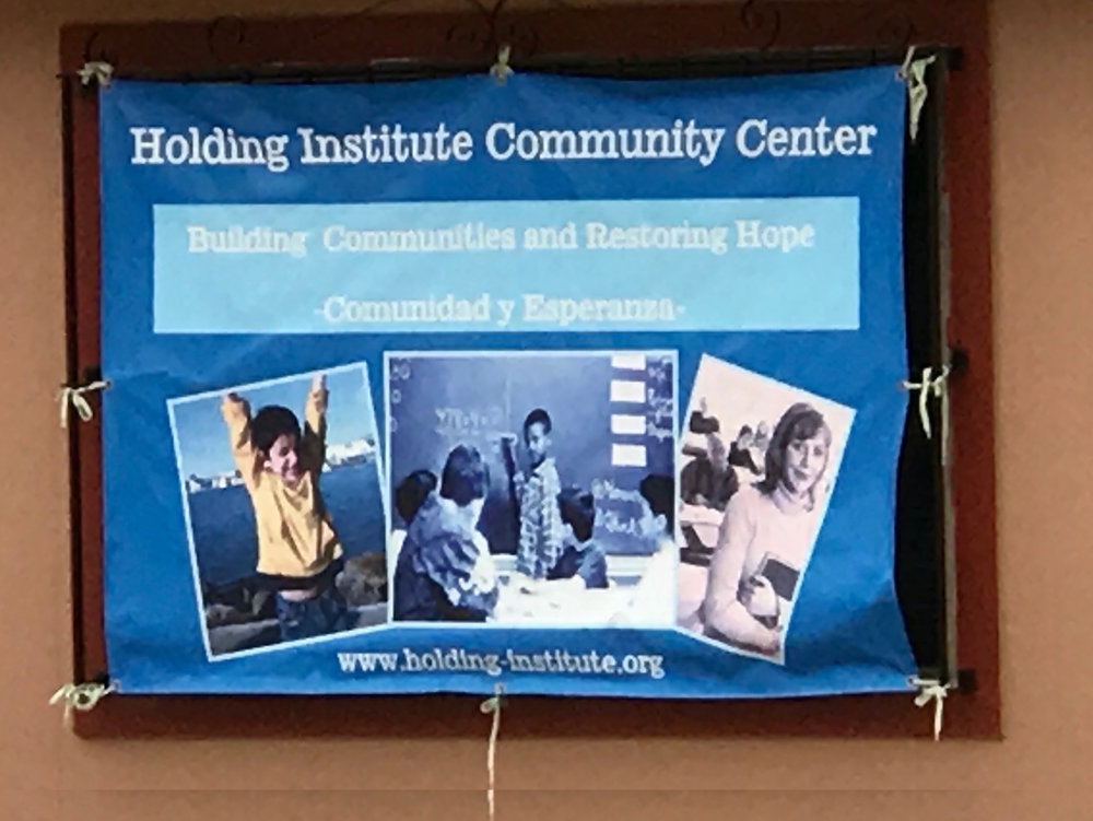 The Holding institute, founded in 1882 as a kindergarten and primary school, has gone through many seasons and changes during its' lifetime. Responding to the 2014 arrivals of unaccompanied minors at the U.S. / Mexico border and now a key responder to this response, Holding serves as a window to the realities of the border context.