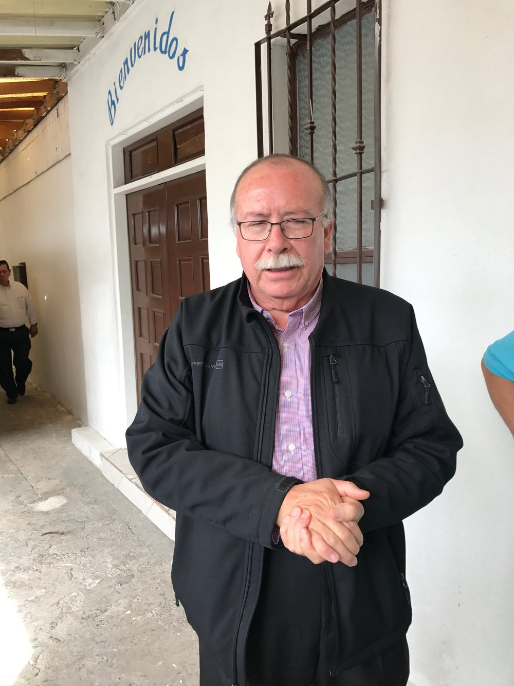 Antonio Ulloa Cruz, regional vice-president of the Methodist Men of Mexico offers his support to the situation as well as his greetings and thanks to the United Methodist Church's support.