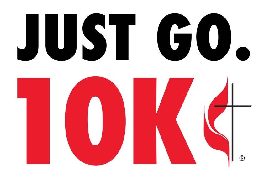 10k = 12,400 steps