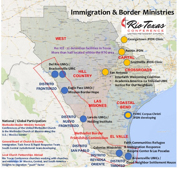 Rio Texas Conference IMMIGRATION RESPONSE Update – July 27, 2018 on