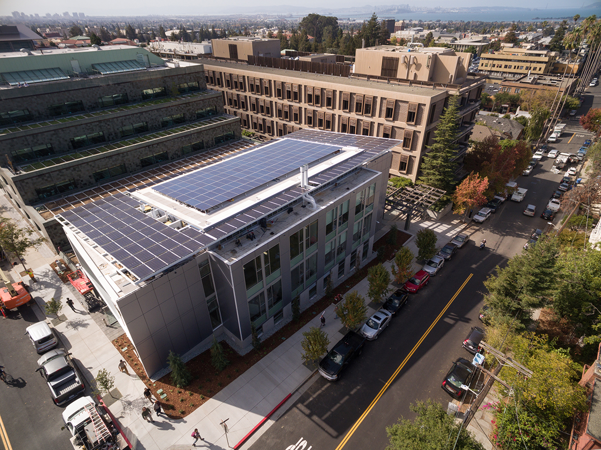 The new Jacobs Hall solar installation at UC Berkeley puts the famous California sunshine to work.
