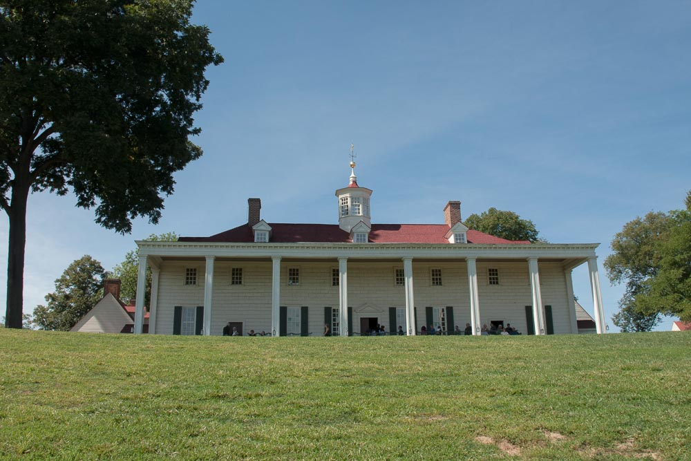 Mount Vernon Overlooking the River