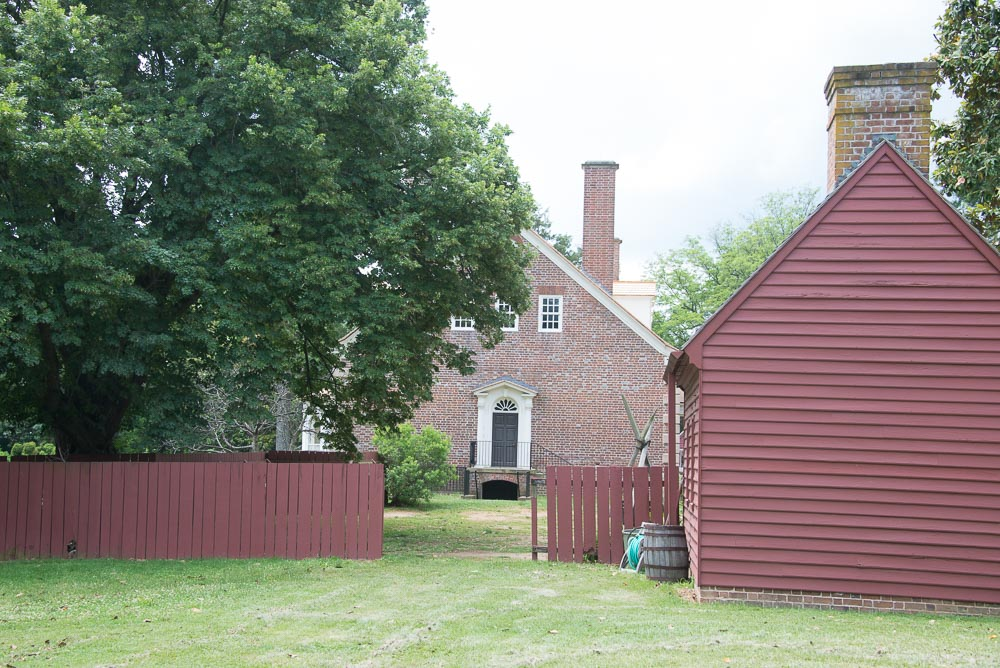 Gunston Hall Kitchen Yard