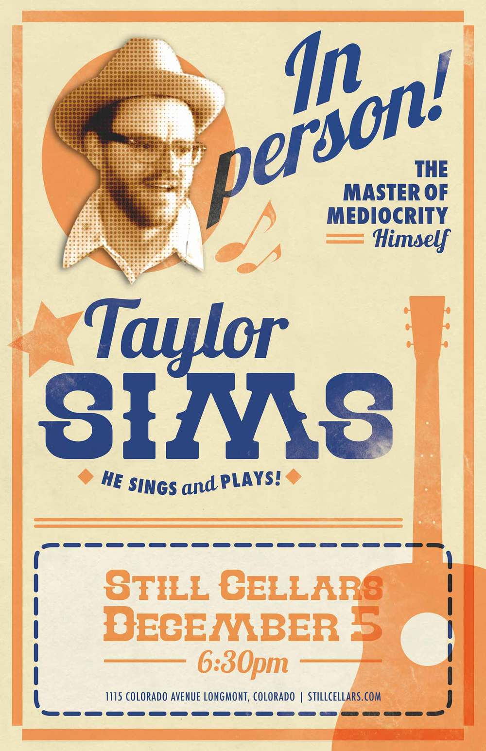 Taylor Sims Poster