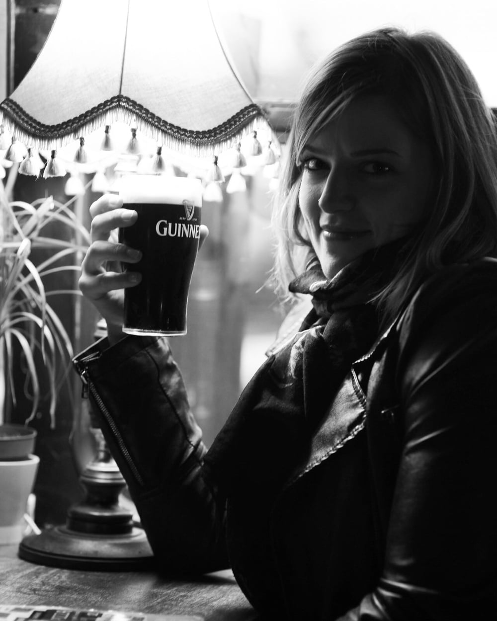 My first Guinness in Ireland. It was perfection.