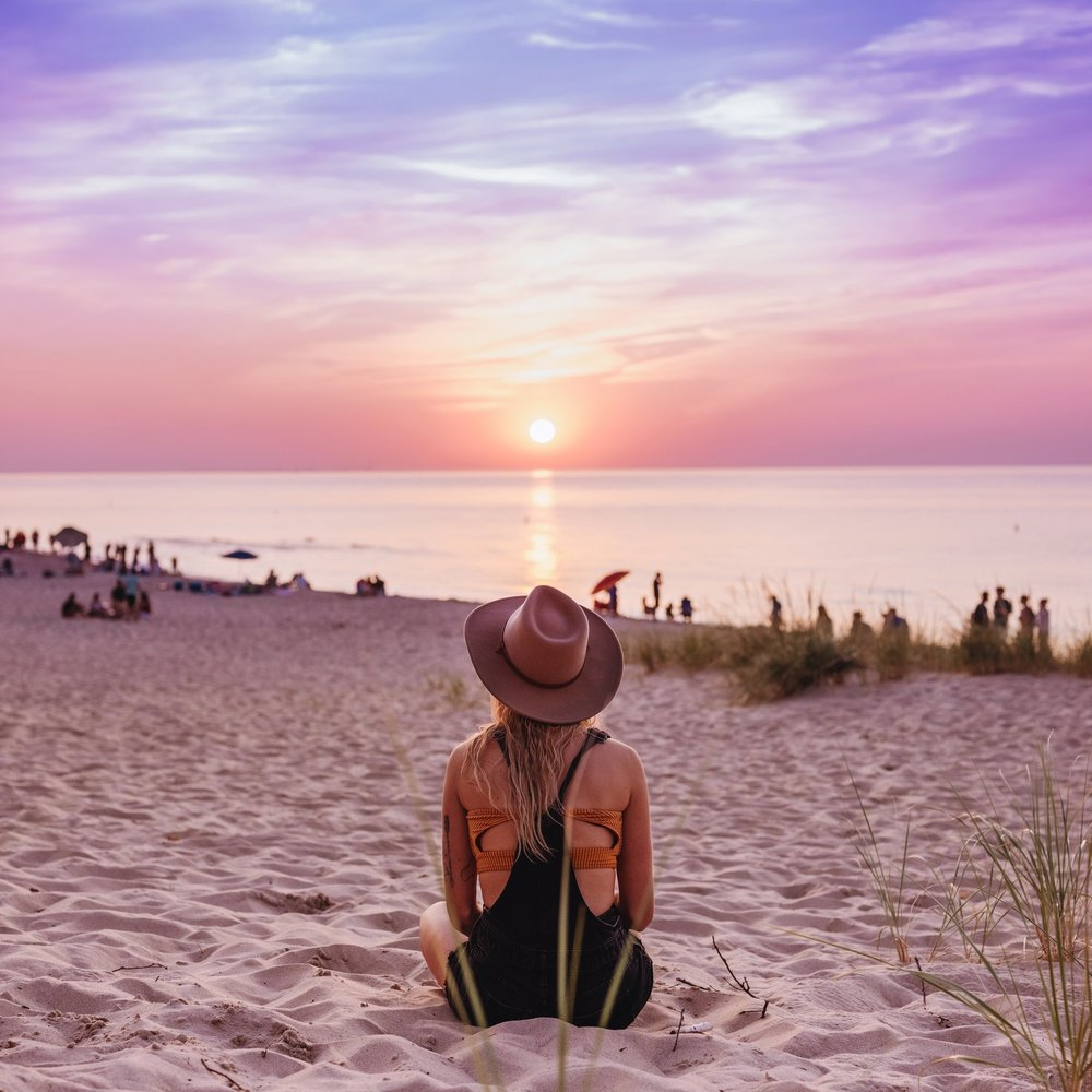 The Indiana State dunes is an epic day trip.