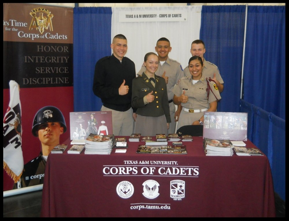 aggie corps recruiter program — texas aggie corps of cadets association