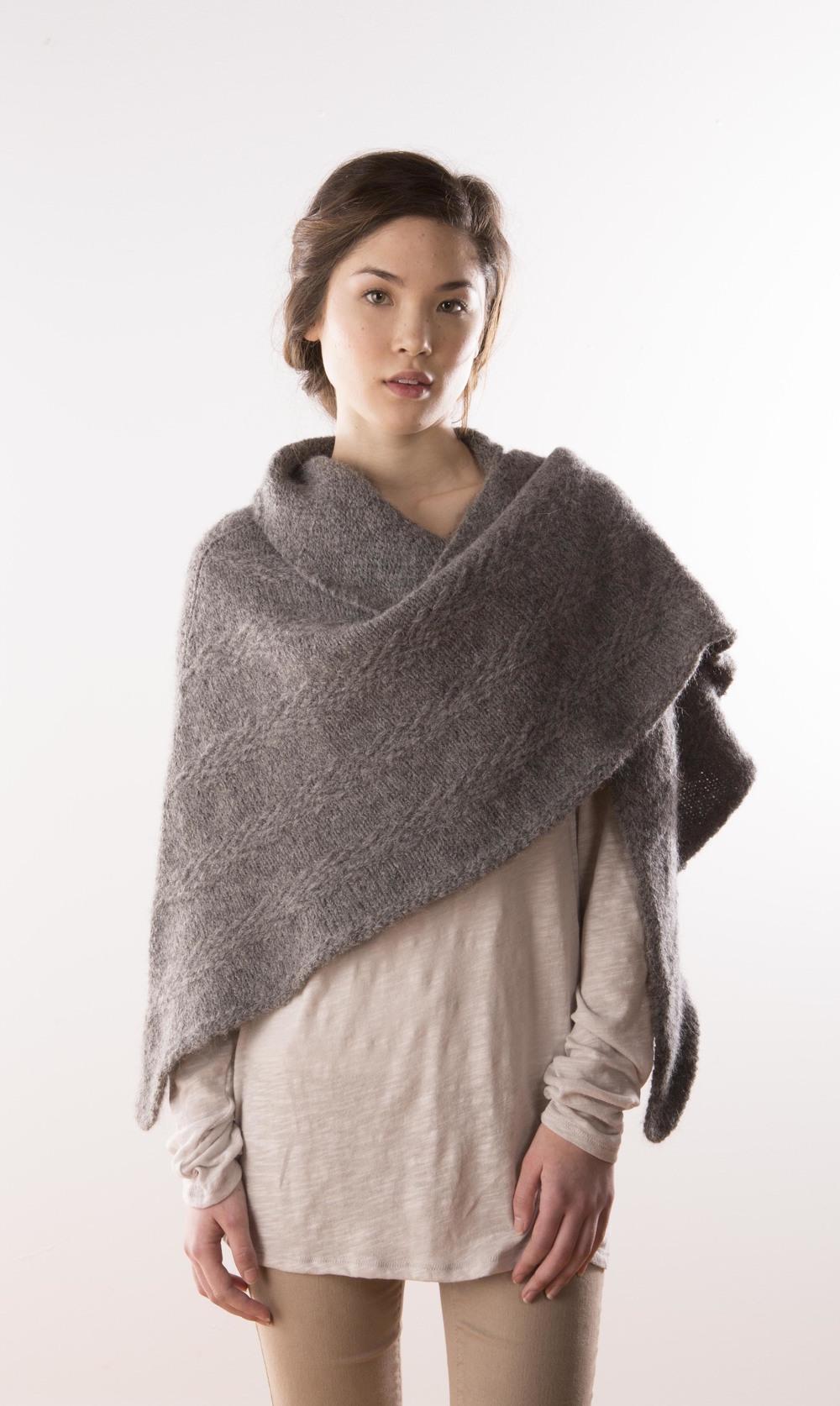 Burrow shawl