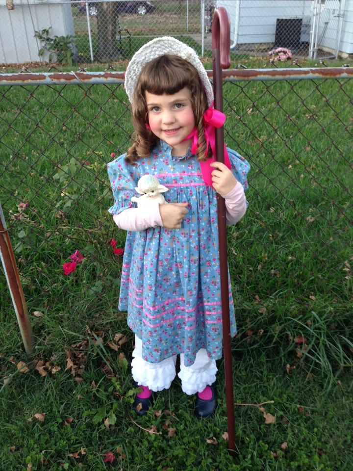 Alice Little Bo Peep Halloween 2012