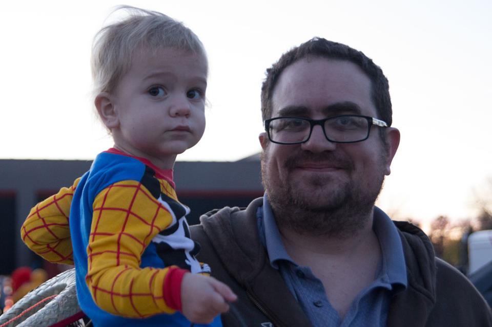 Hugh and Felix Halloween 2012