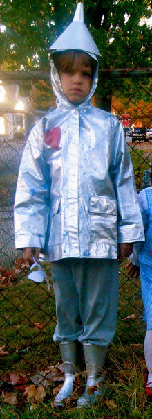 Jarvis Tin Man Halloween 2012