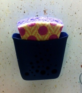 This little sponge caddy might have saved my marriage.