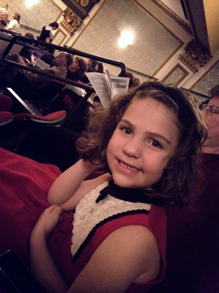 Alice at the ballet