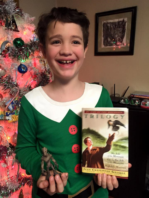 Buddy the Elf is his favorite.