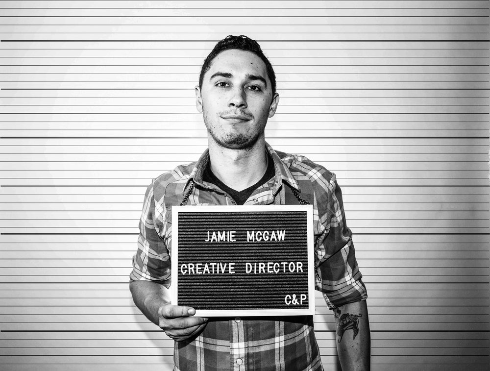 JAMIE MCGAW - CREATIVE DIRECTOR