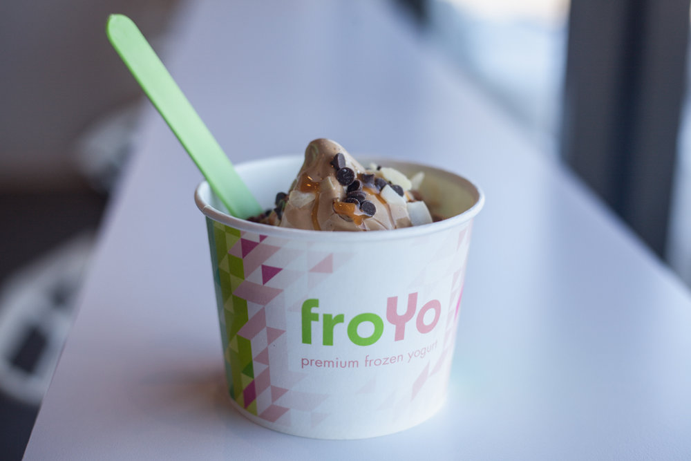 Participants are invited to re-design the iconic froYo cup