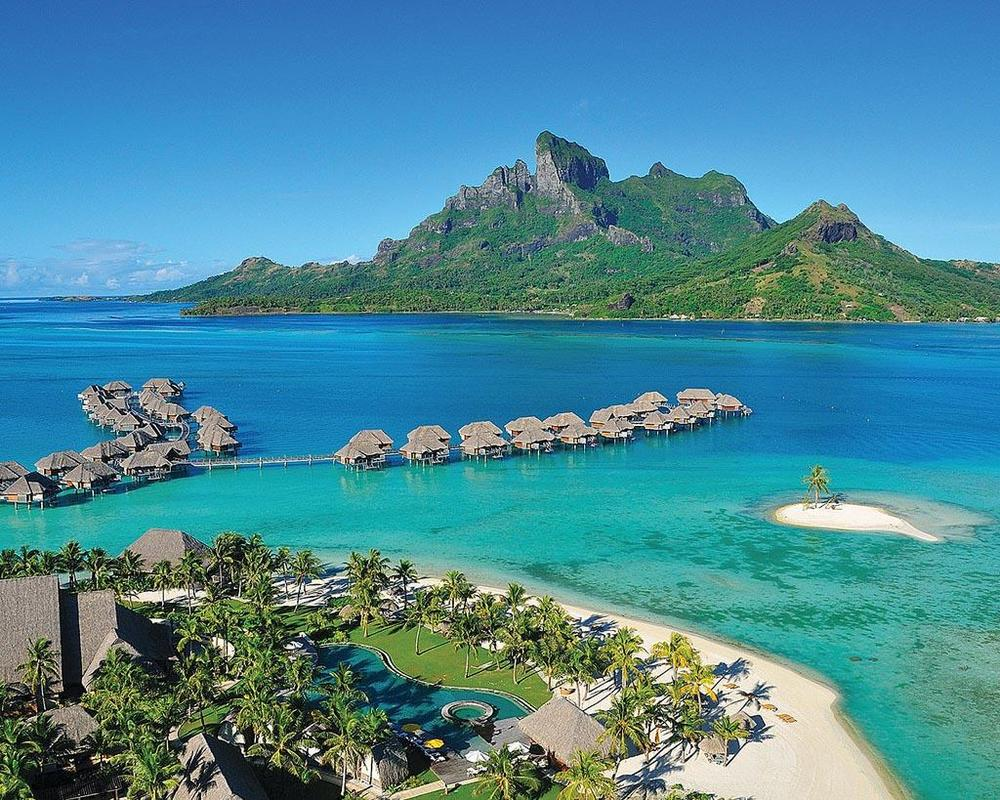 Four Seasons Bora Bora (photo credit  Virtuoso.com )
