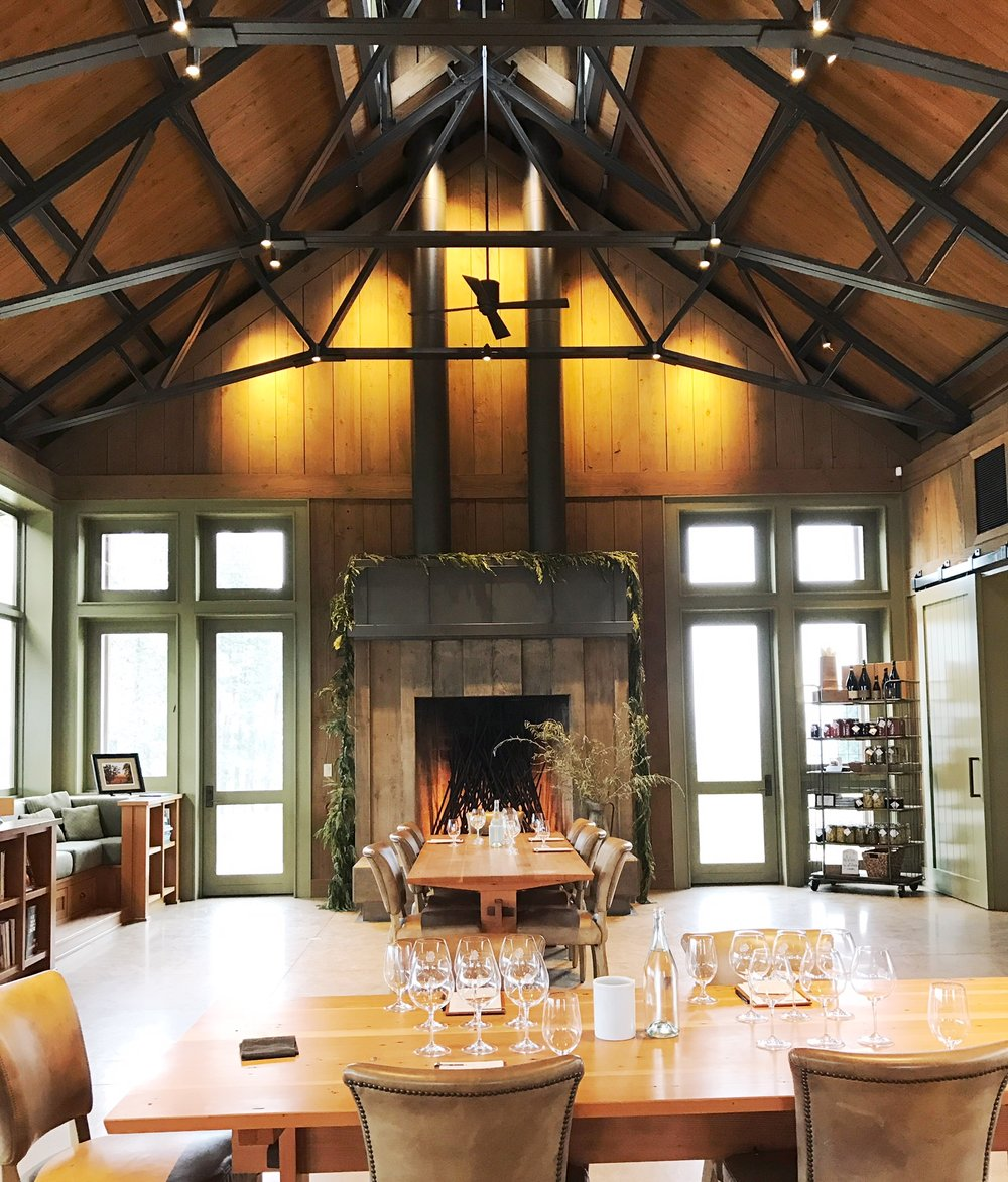 Soter Vineyards  is the former home of the owners, designed by architect  Howard Backen