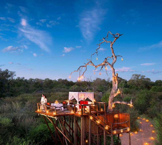 Lion Sands Private Game Reserve   CHALKLEY TREEHOUSE  in Kruger   Photo Credit: Lion Sands Private Game Reserve