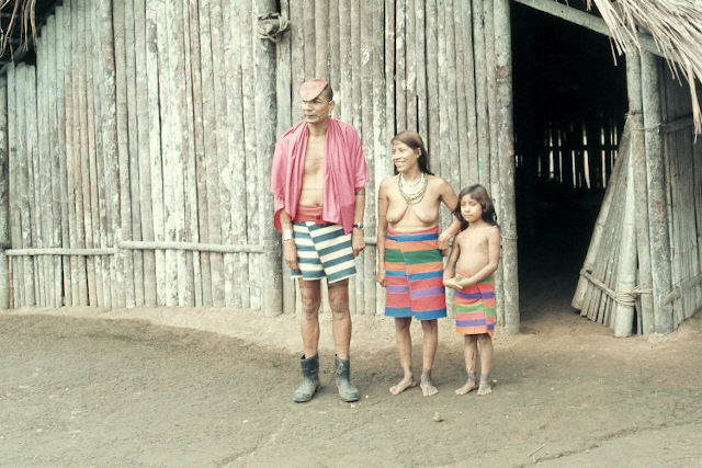 Another family at The  Amazon