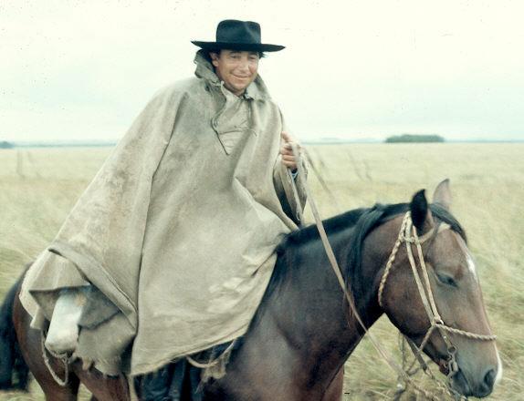 A  gaucho .
