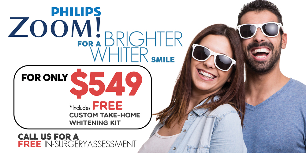 Zoom! Whitening promotion from Aperture Dental