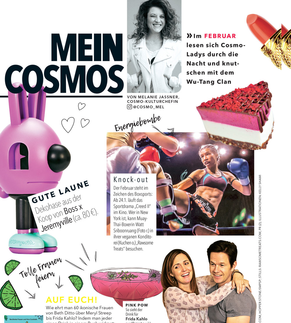 Cosmopolitan Germany - February 2019. Print Issue