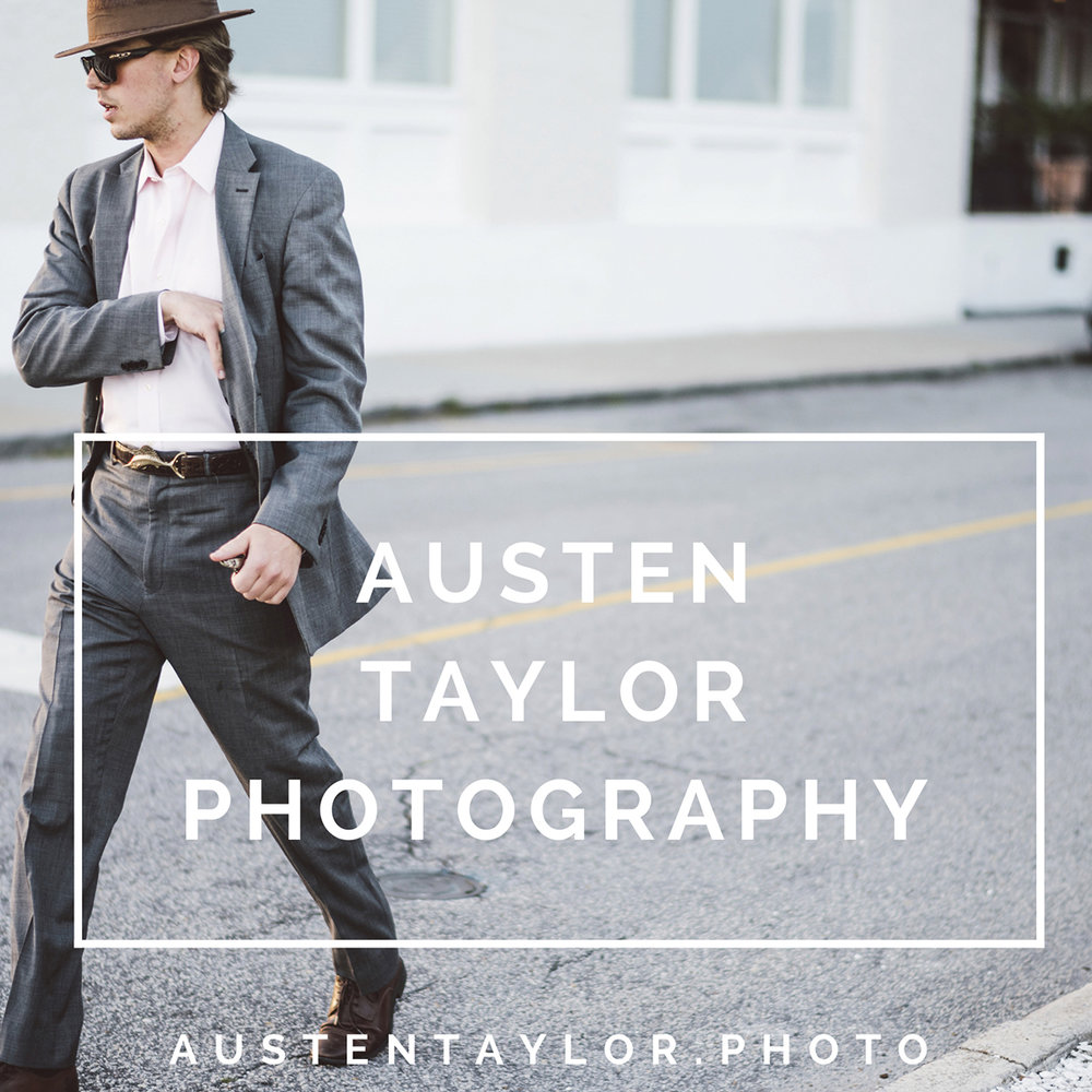 BRAND NEW WEBSITE. URL LISTED ABOVE ^^ WWW.AUSTENTAYLOR.PHOTO