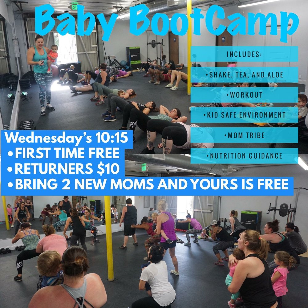 #TeamSexy247FitMoms Mommies & Aunties welcome!  Join us at Brea Nutrition and Fitness to get our SWEAT ON, grab some BOMB post recovery shakes and energy tea, and have some much needed MOM TALK while the kiddos play <3  JUST ADDED - BABY BOOTCAMP MONDAYS 11:30AM!!