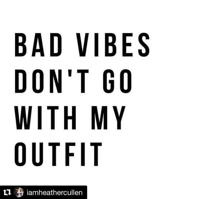#Repost @iamheathercullen with @get_repost ・・・ . 💯💯💯 Clean that energy UP yo!! It's OUR responsibility to 1) clean up OUR energy and 2) surround ourselves with people who do the same OR 3) set healthy boundaries and ask for what we need from people if they're just not quite there yet. . COMPASSION & GRACE go a long way in addition to boundaries. Especially WITH YOURSELF (one of MY biggest SOUL lessons) 🙏🏼 . Anyways, get those GOOD VIBES coming and lets GO 💕👸🏻 #StraightenYourCrown